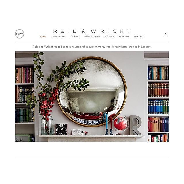 Mirror mirror on the wall.... @reidandwright Check out the brand new website www.reidandwright.london #convex #convexmirror #roundmirrors #lovetheseguys